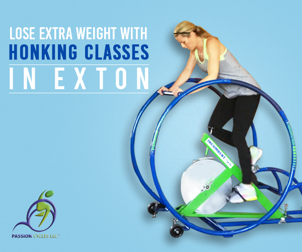 Indoor cycling class exton